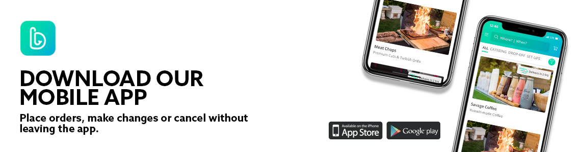 Get yours now - available on the iOS and Android app stores!