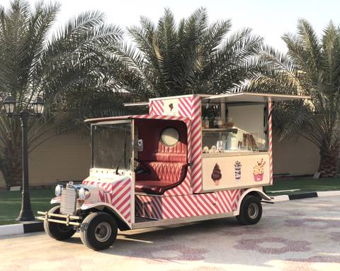 Ice Cream Truck for 20 Persons
