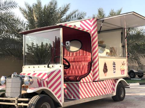 Ice Cream Truck for 30 Persons